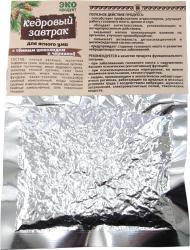 Купить Завтрак кедровый для ясного ума с темным шоколадом и черникой