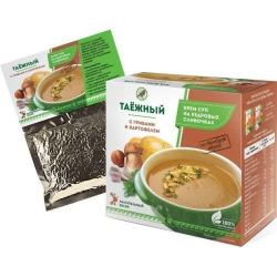 Купить Крем-суп «Таежный» с грибами и картофелем