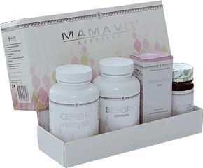 Купить Комплекс Мамавит (4 продукта)
