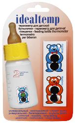 Купить Термометр жидкокристаллический для бутылочки